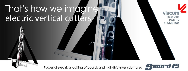 El Sword Taglio elettrico ad alta potenza di pannelli e supporti ad alto spessore